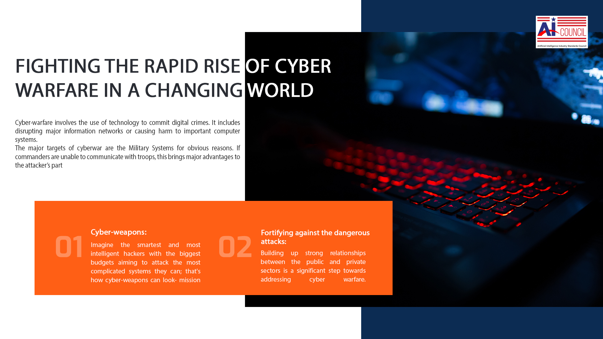 Fighting the Rapid Rise of Cyber Warfare in a Changing World