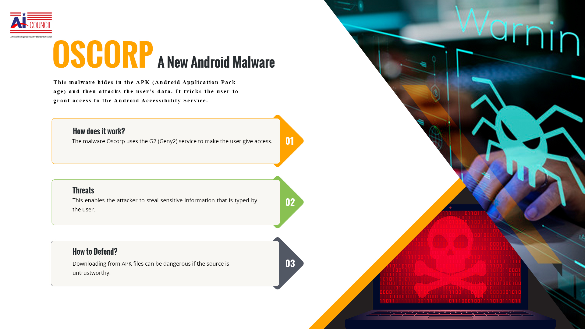 OSCORP—A New Android Malware