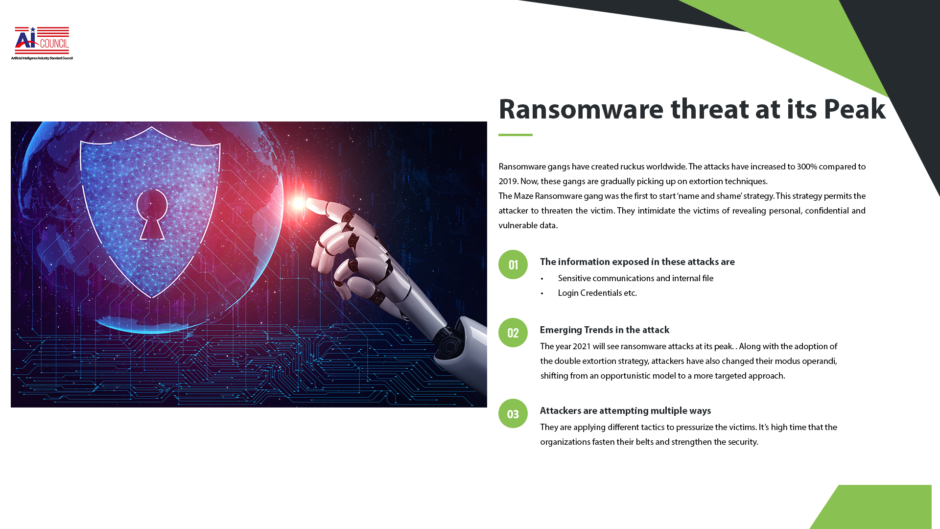 Ransomware Gangs & Their Threat at Its Peak