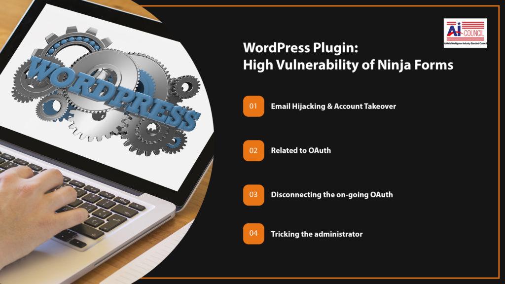 WordPress Plugin – Ninja Forms is highly vulnerable