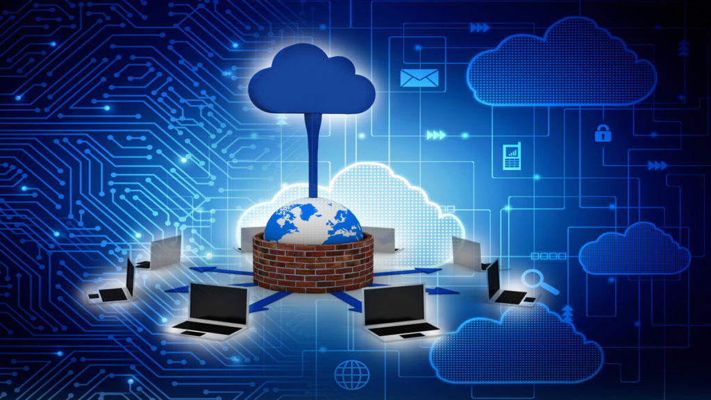 What are the three cloud computing layers?